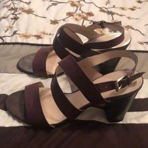 Franco Sarco dark brown sandals